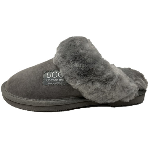 WOMBAT SHEEPSKIN UGG SLIDE