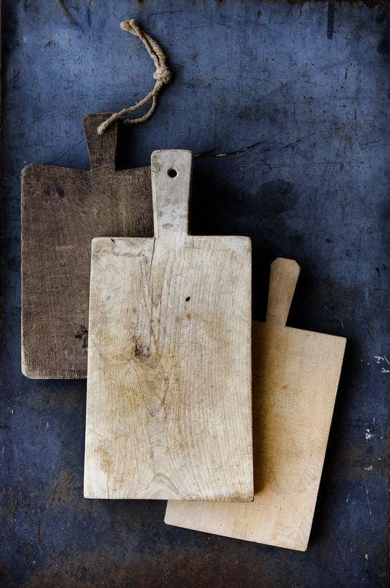 Caring for Your Vintage French Bread Boards