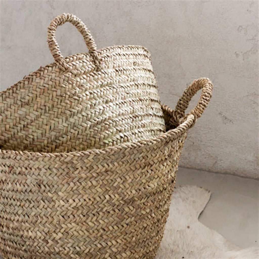 That Moroccan Basket is Tres Chic