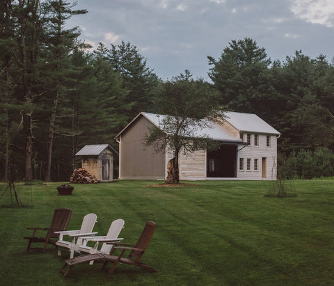 floating farmhouse barn adirondack chairs