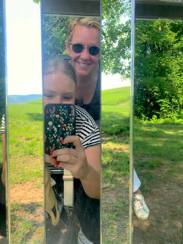 laurie andie mirror fence storm king