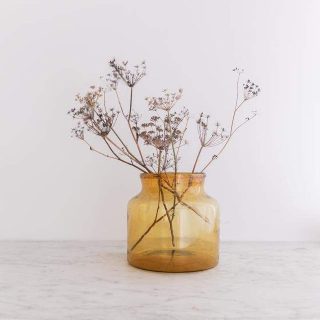 Amber Petite Pickling Jar - decor