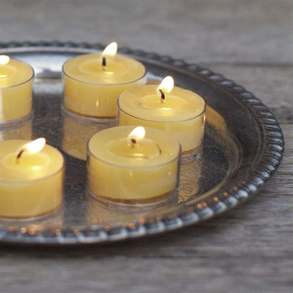 Beeswax Tealight or Votive Set of 6 - elsie green