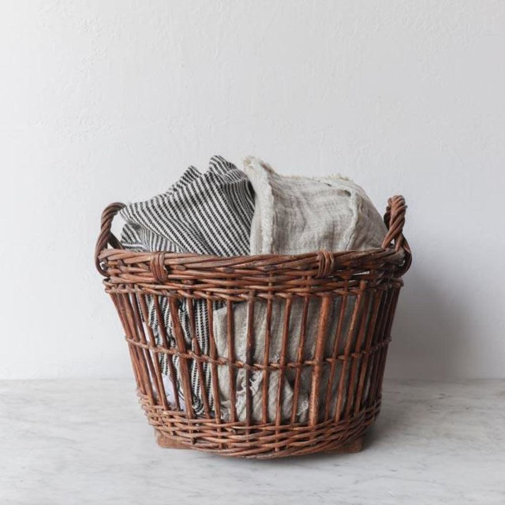 Belgian Laundry Basket - Decor