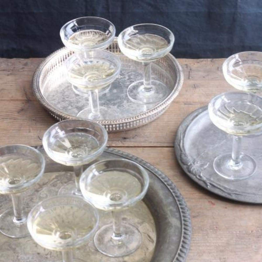 Bistro Champagne Coupe Set Of 2 - elsie green