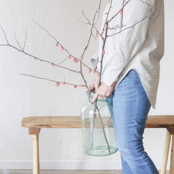 Blown Glass Pickling Jar - elsie green