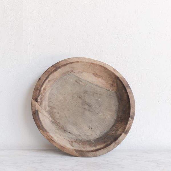 Carved Wood Bowl - The French Kitchen