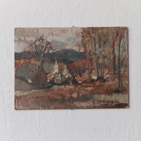 Chapel in the Trees Oil Painting - Decor