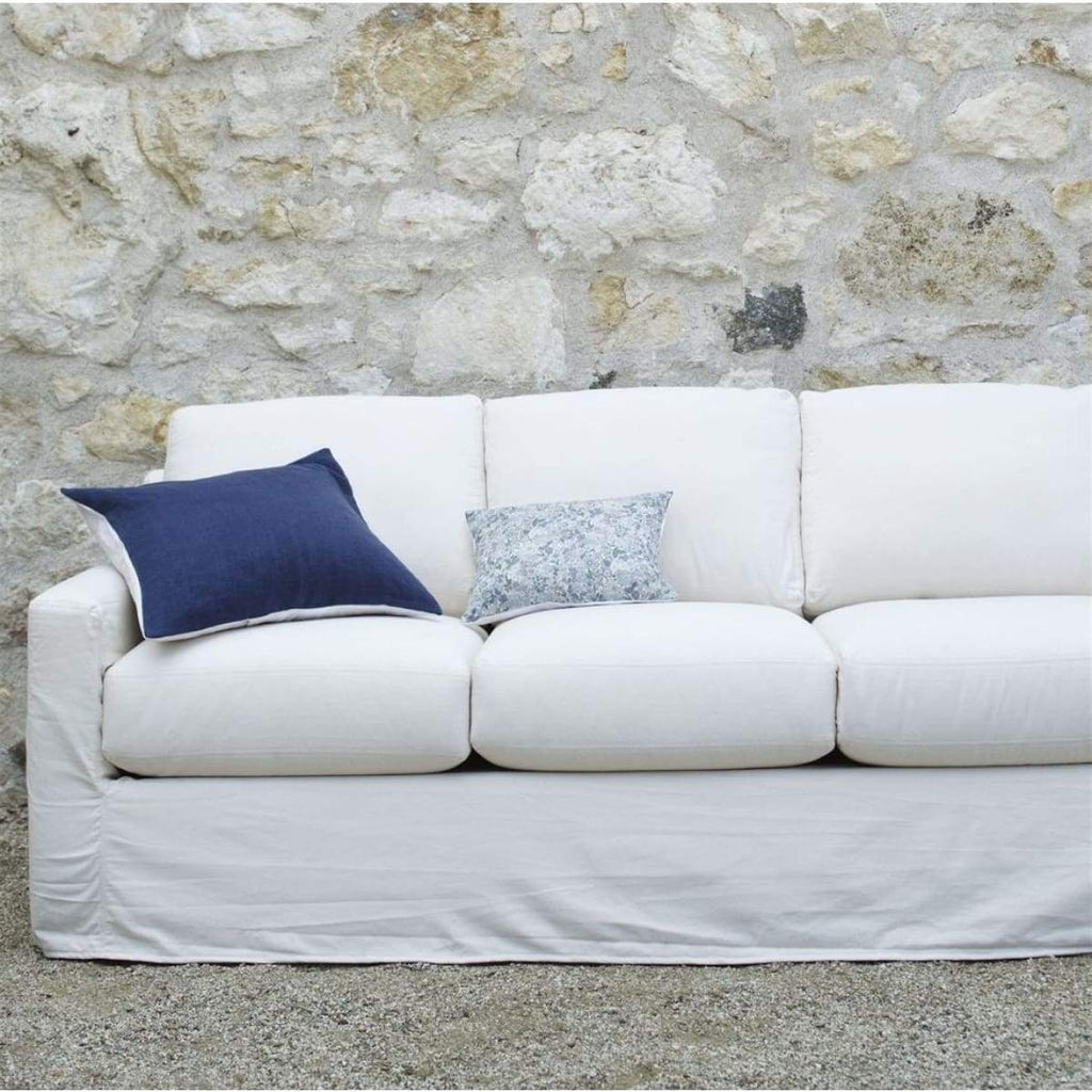 Chic & Comfy Slipcovered Sofa - elsie green