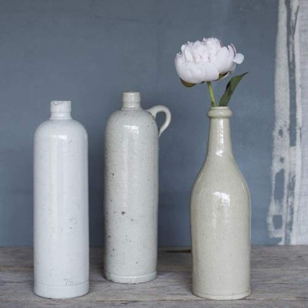 Chic Stoneware Bottle - elsie green