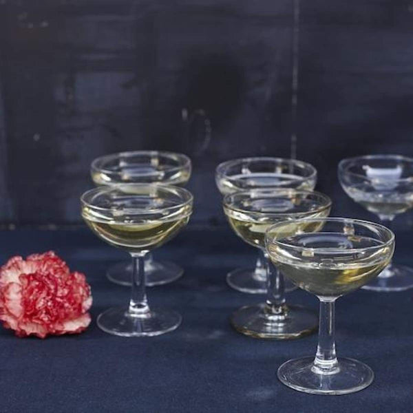 Classic Champagne Coupe Set Of 6 - elsie green
