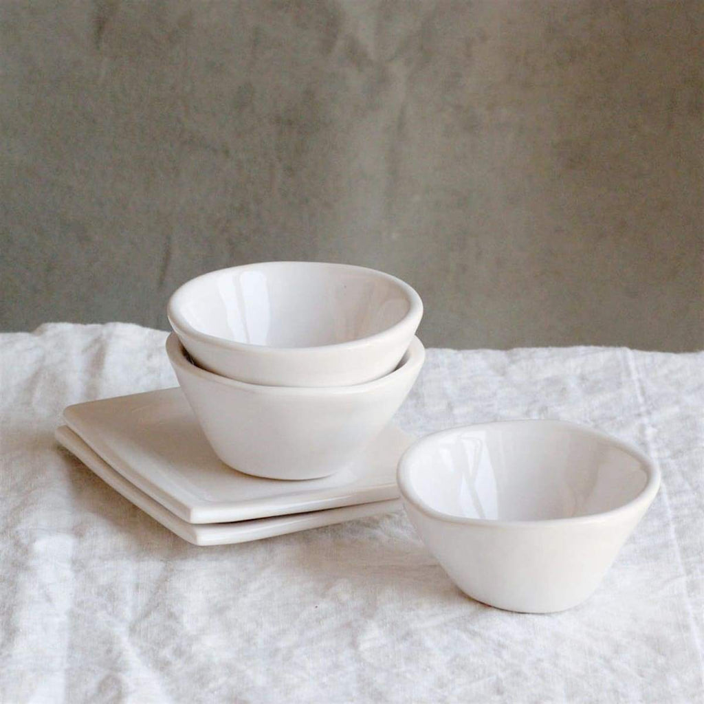 Classic Dipping Bowls set of 3 - elsie green