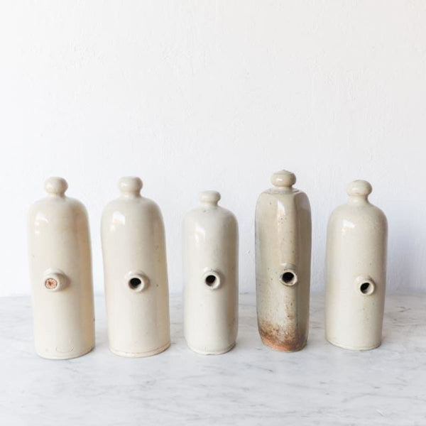 Collection of Vintage Stoneware Bottles - the french kitchen