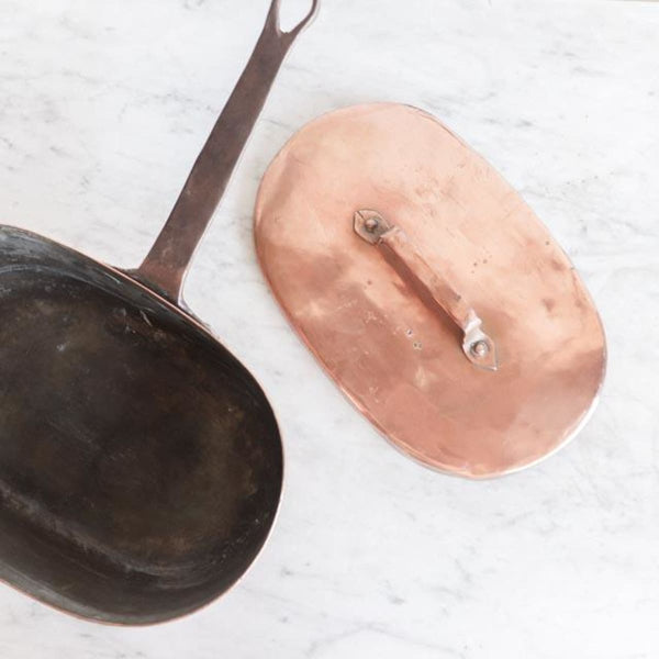 Copper Braising Pot - The French Kitchen