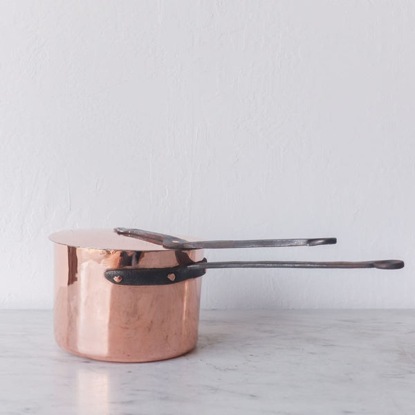 Copper Pot with Lid - The French Kitchen