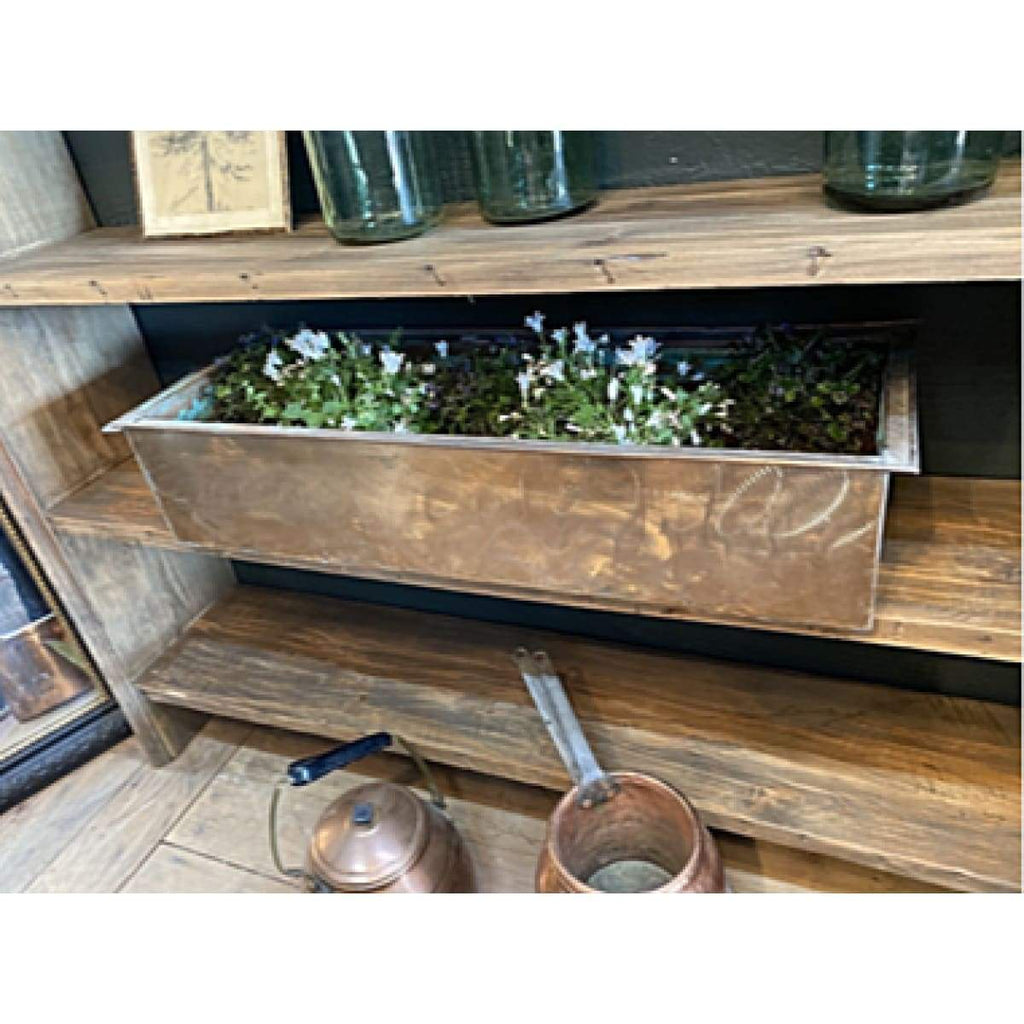 Copper Window Box - Decor