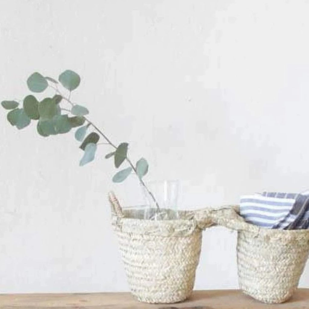 Double Moroccan Basket - elsie green