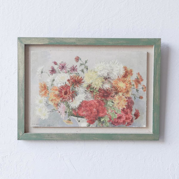 Floral Still Life Oil Painting - decor