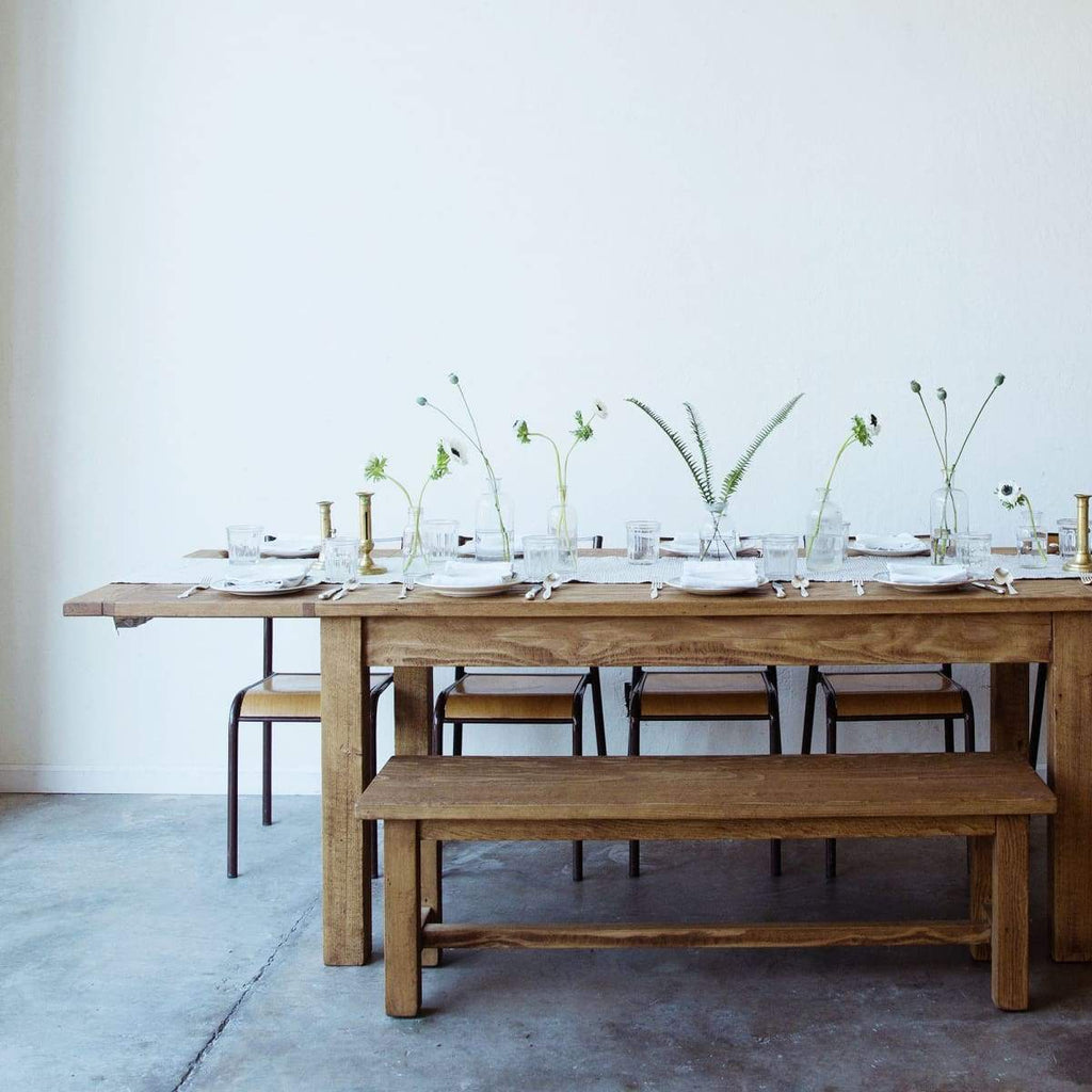 Reclaimed French Inspired Farm Table - elsie green