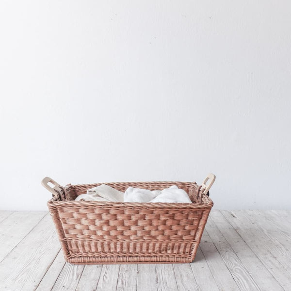 French Laundry Day Basket - decor