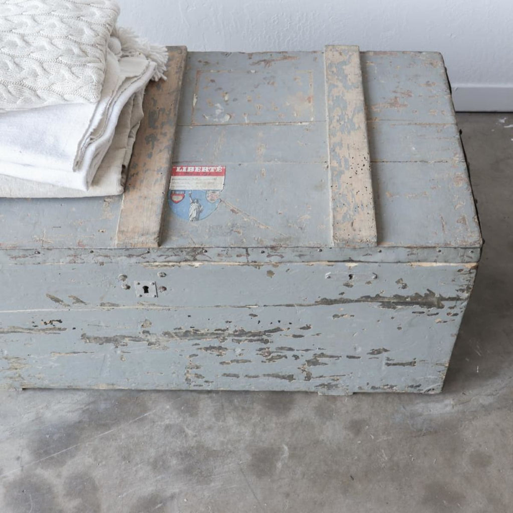 French Travelers Trunk - Furniture