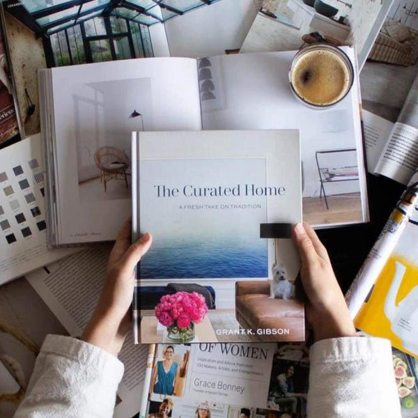 Grant Gibson Book, The Curated Home - elsie green