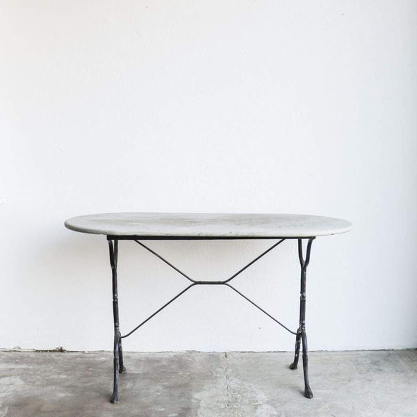Honed Marble Bistro Table - elsie green