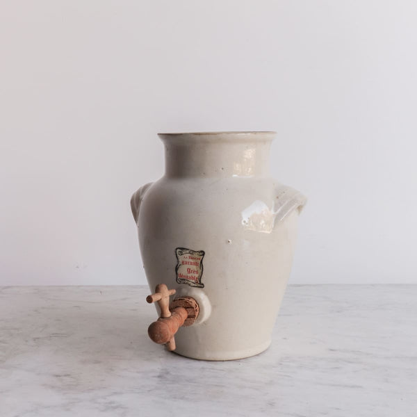 Labeled Stoneware Cider Crock - the french kitchen
