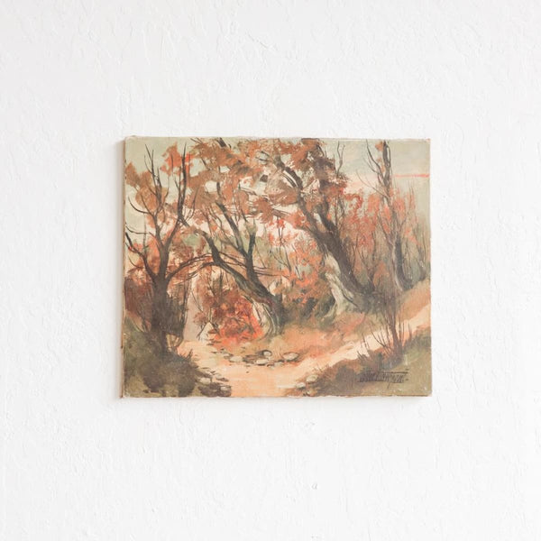 Landcape with Fall Leaves - decor