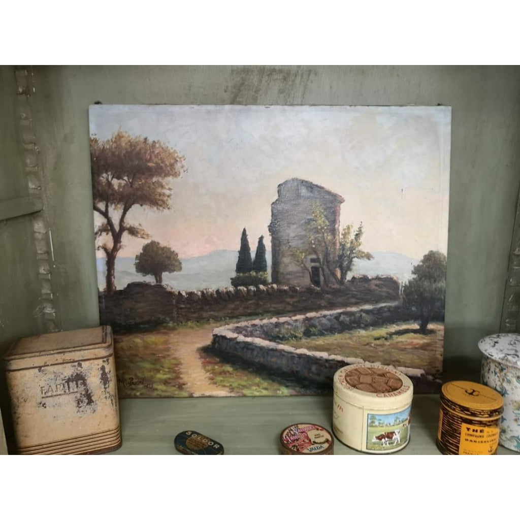 Landscape with Ruins Oil Painting