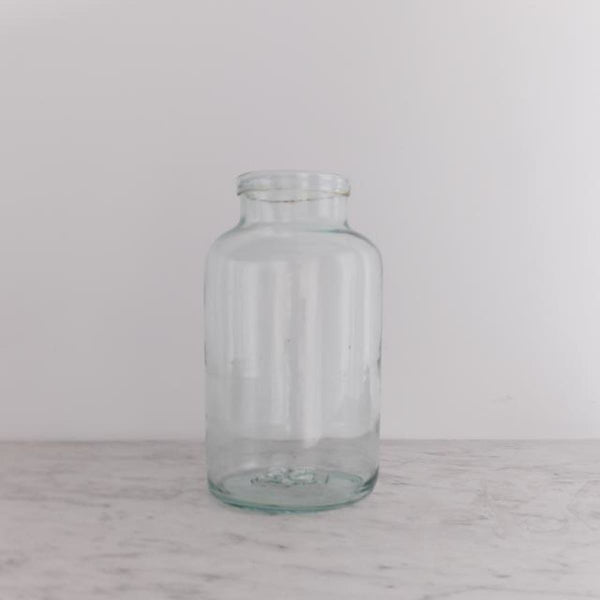 Blown Glass Pickling Jar - decor