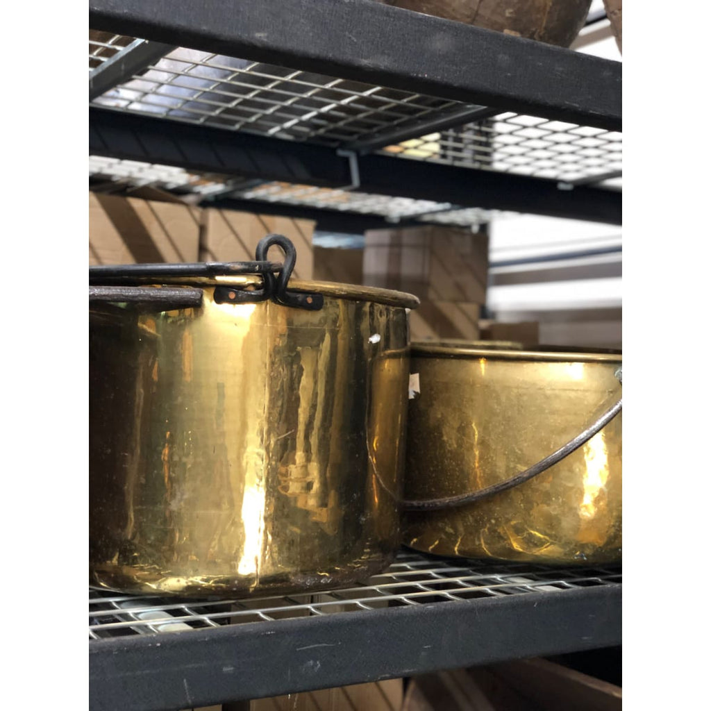 Large Brass Kettle - the french kitchen