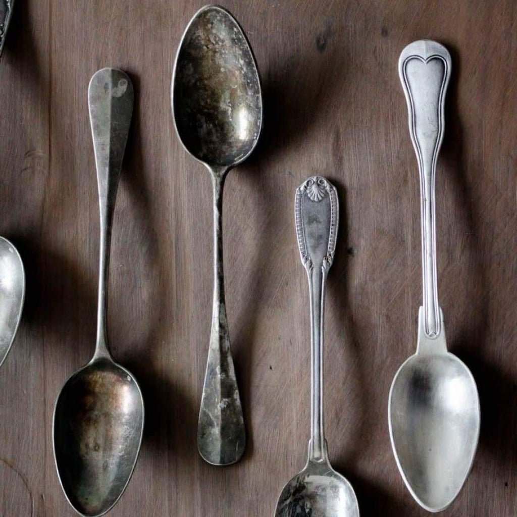 Large French Serving Spoon - elsie green