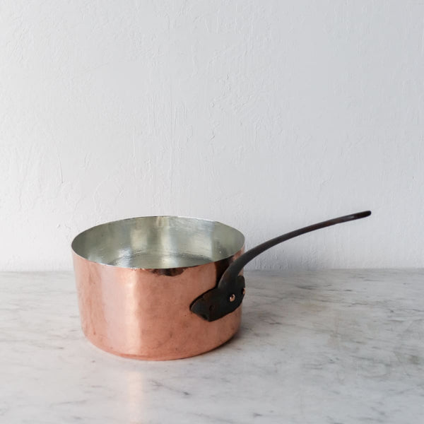 Large Vintage Copper Pot - the french kitchen