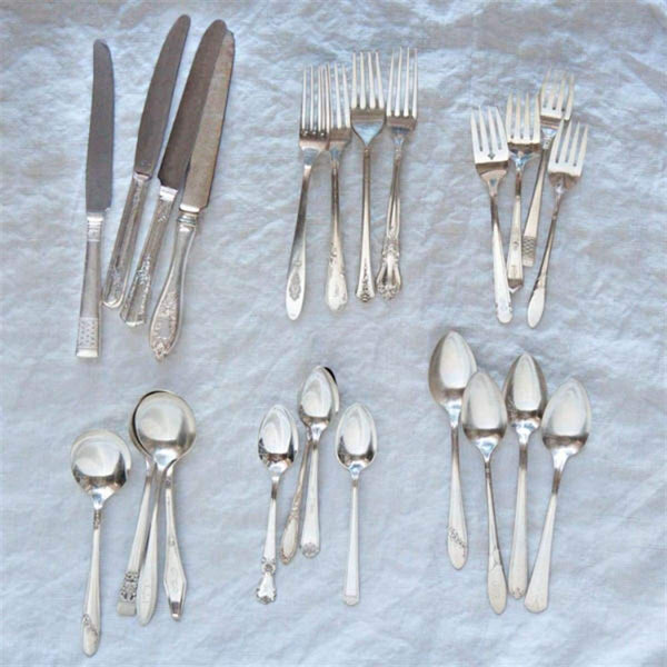 Not Your Grandma's Vintage Flatware - elsie green
