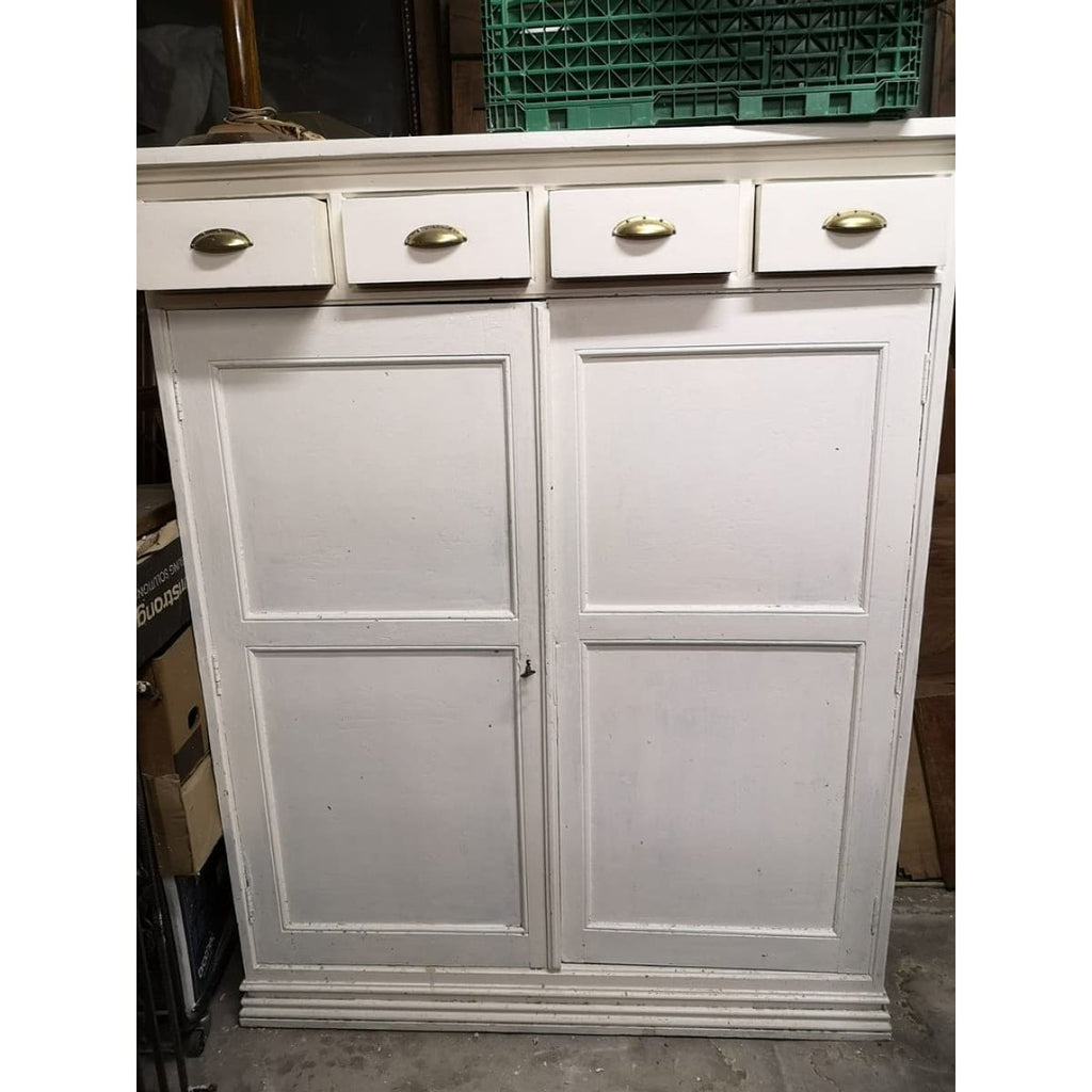 Painted Pharmacist Cabinet