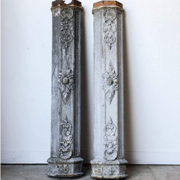 Cast Iron Pillar - Decor