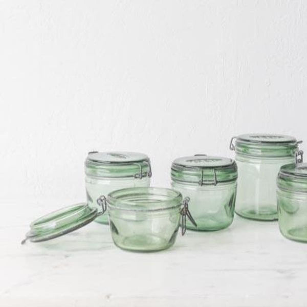 Petite Vintage Canning Jar - the french kitchen