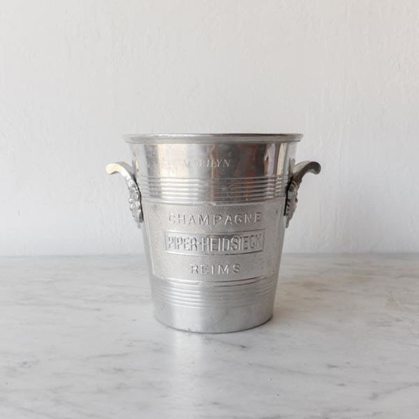 Piper Heidesieck Champagne Bucket - Silver Piper - the french kitchen