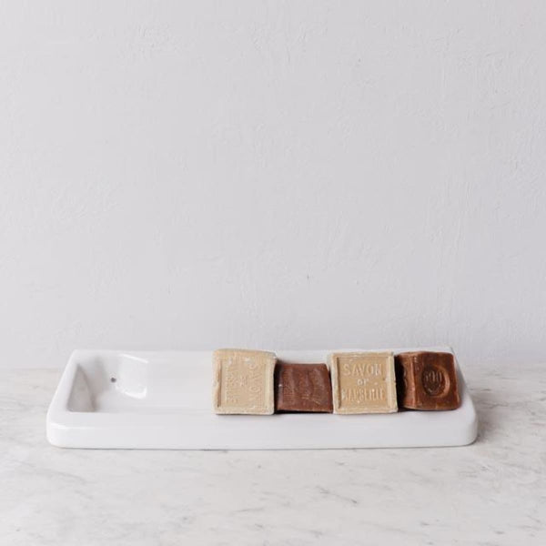 Porcelain Soap Tray - The French Kitchen