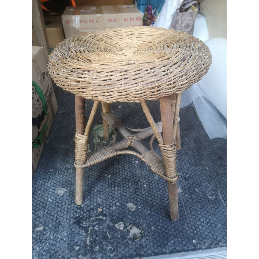 Rattan Stool - Décor