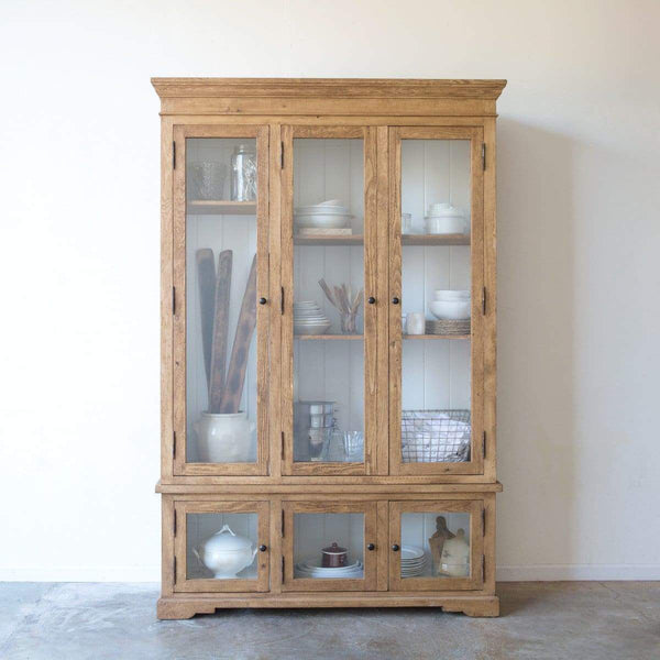 Reclaimed Wood China Closet - elsie green