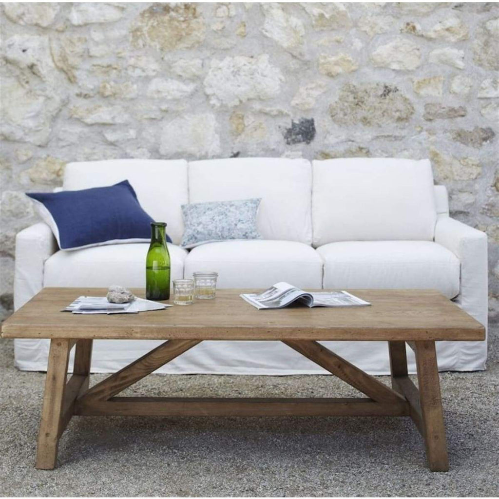 Reclaimed Wood Coffee Table - elsie green