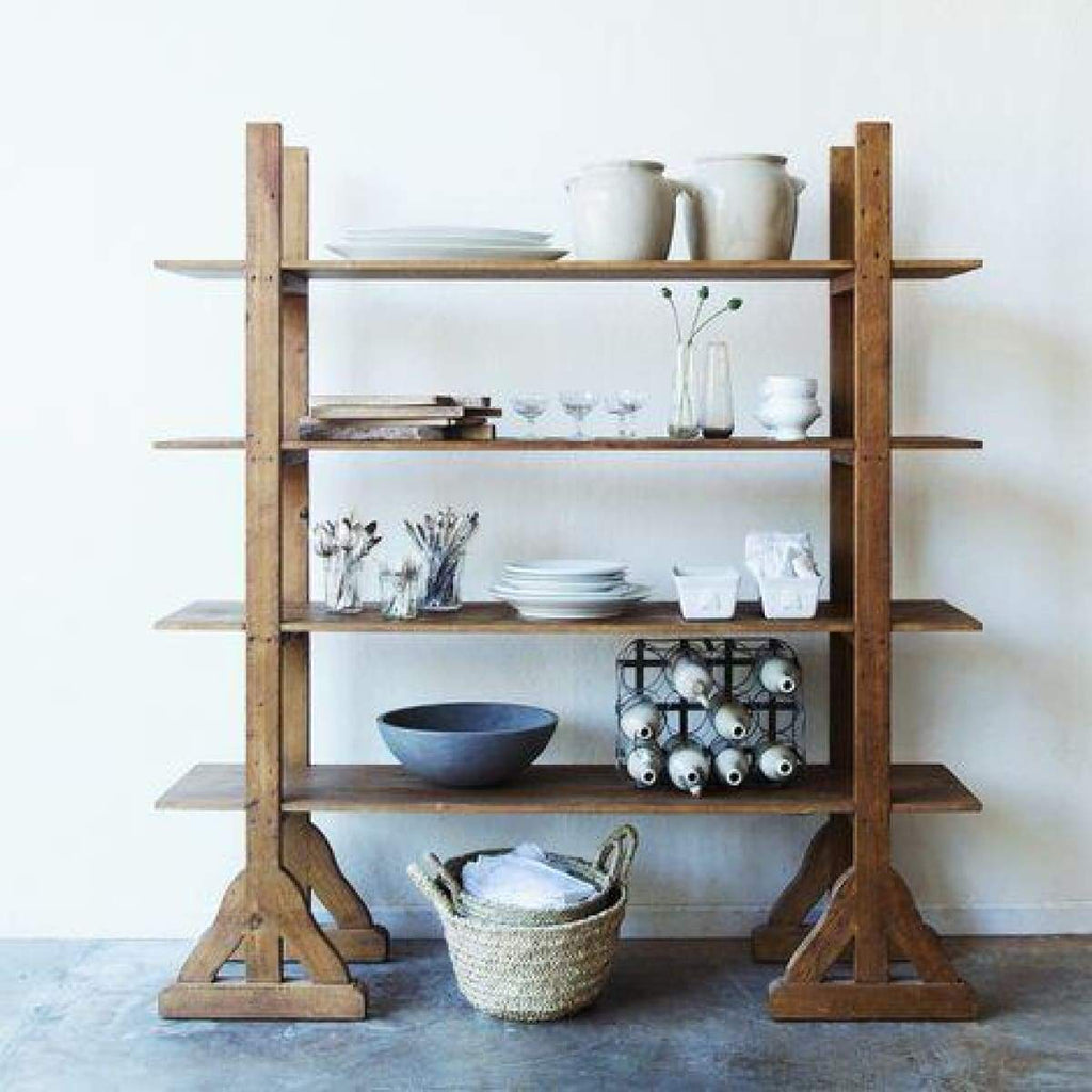 Reclaimed Wood Etagere - elsie green