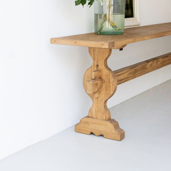 Reclaimed Wood Monastery Console - furniture