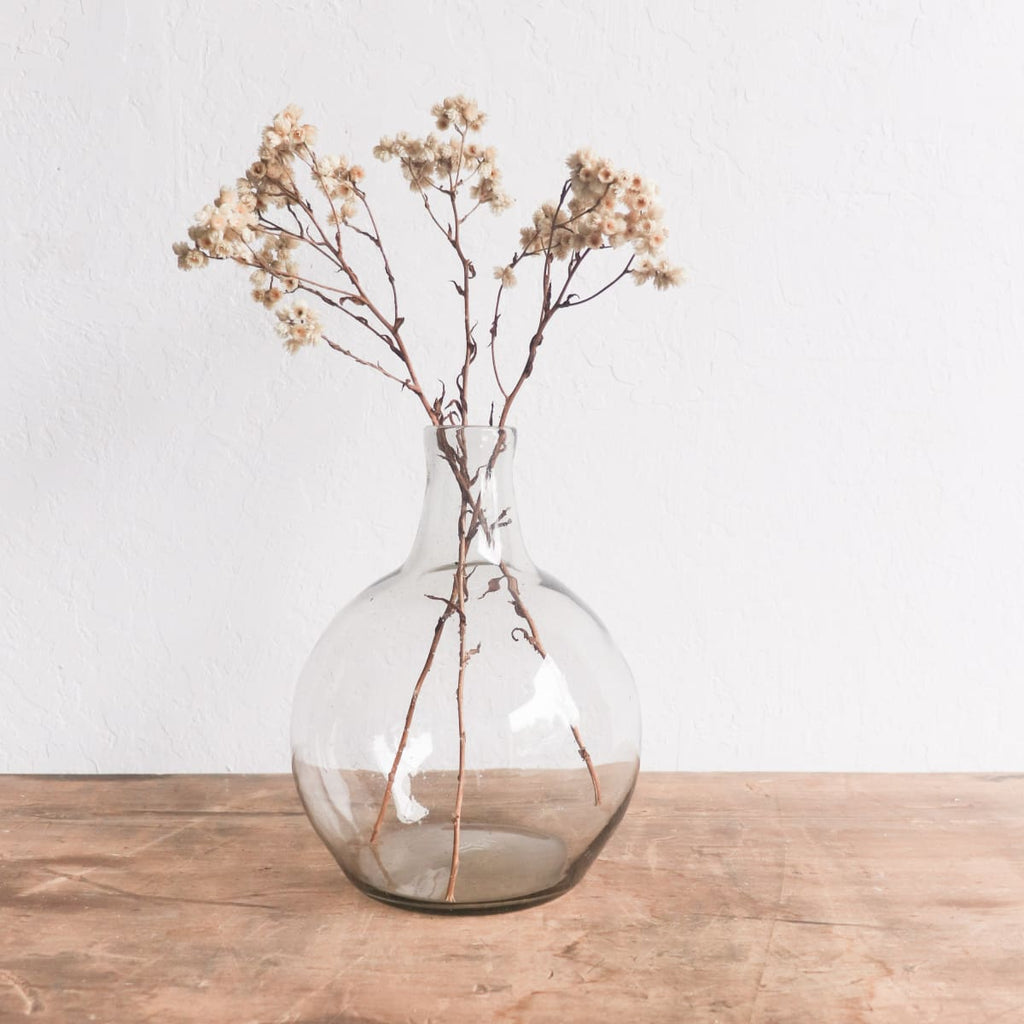 Recycled Glass Balloon Vase - Decor