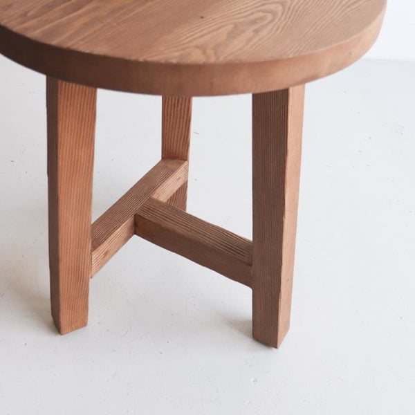 Round Side Table - custom furniture