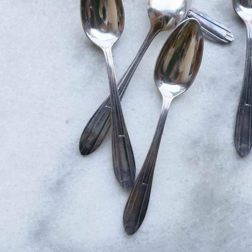 Set of Ten French Teaspoons - The French Kitchen