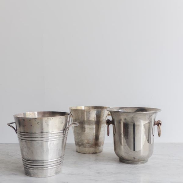Silver Plated Champagne Bucket - the french kitchen