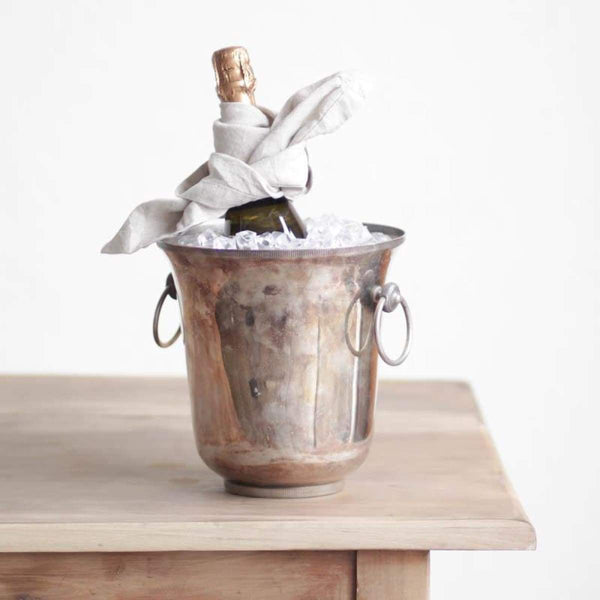 Silver Plated Champagne Bucket - elsie green